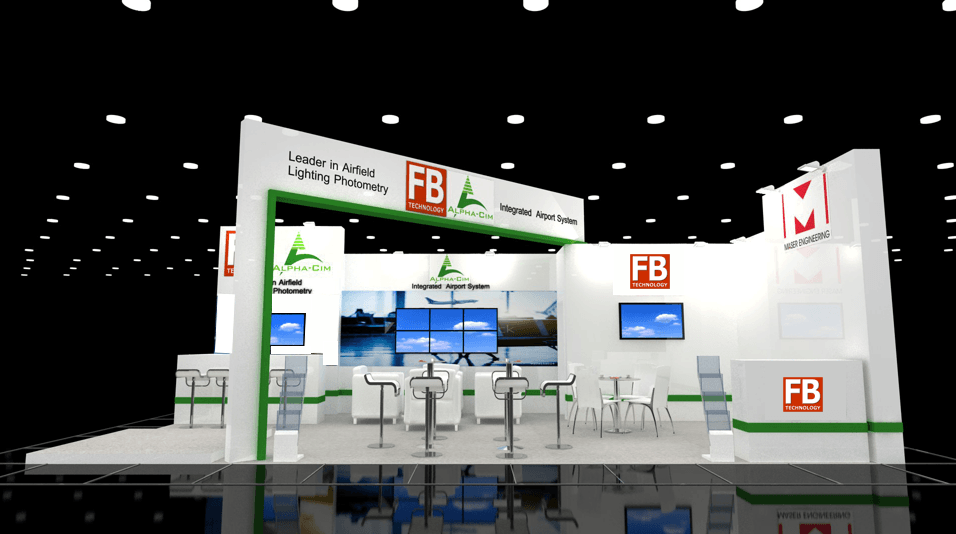 FB Technology stand at inter airport Europe 2019